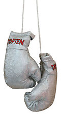 Top Ten-mini boxing gloves. plata. souvenier. colgante. Lifestyle.
