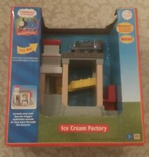 Authentic Learning Curve Wooden Thomas Train Ice Cream Factory! New!