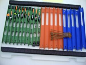 Set of 10 Assorted NGT Match Pole Rigs in Winder Box + Spare Winders & Anchors.