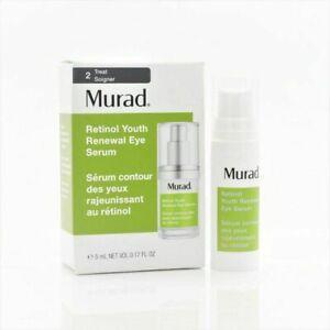 Murad Retinol Youth Renewal Eye Serum - Brand New & Boxed - 5ml Travel Size