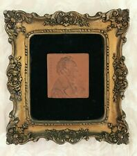 Franz Schubert profile engraving wall décor frame 6.5 X 7'