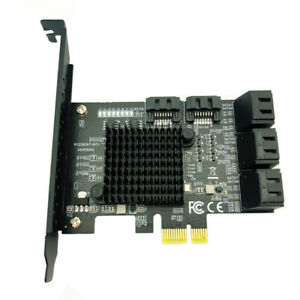 8 Port SATA 3 PCI Express Expansion Card PCI-E SATA Controller Adapter for HDD