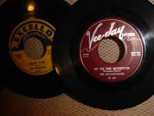 lot of (6) 1950s doo wop 45rpm - Magnificents; Marigolds; Fantastics; Clovers +2