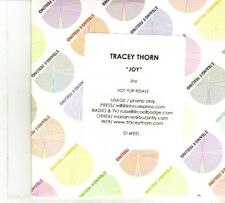 (DP390) Tracey Thorn, Joy - 2012 DJ CD