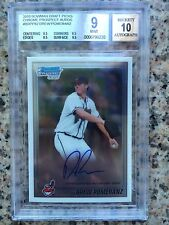 Drew Pomeranz 2010 Bowman Chrome Auto BGS 9/10 (Just Got Traded To Boston)!