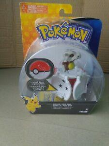Pokemon Cubone PokeBall Pops Open Tomy Figure Brand New