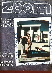 Zoom Rivista dell'immagine n. 107 / 1991 Fotografia Gli inediti di Helmut Newton