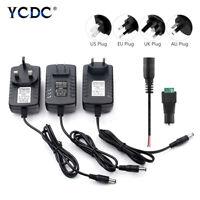 Power Supply Adapter AC 100V-240V to DC 12V 2A For LED Strip Light CCTV Driver