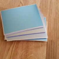 Craftroom Clearout KANBAN A6 Quality Metallic Cardstock 250 Gsm Blue 10 sheets