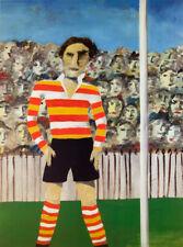 Sidney NOLAN Footballer print art famous Australian modern artist expressionism