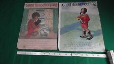 Vintage 1920s/1930s Good Housekeeping Magazine covers Lot of 2