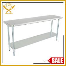 18 X 72 Stainless Steel Work Prep Table Commercial Restaurant Food Undershelf