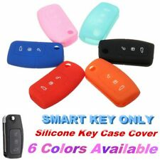 3 Buttons Silicone Car Remote Fob Key Holder Case Cover for Ford Focus Fiesta