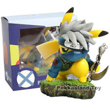"PIKACHU HATAKE KAKASHI COSPLAY NARUTO SHIPPUDEN 4"" PVC FIGURE COLLECTIBLE TOY"