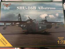 GRUMMAN SHU-16B ALBATROSS (U.S. NAVY & U.S.A.F.)  SOVA-M 1/72 Plastic Kit