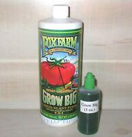 Fox Farm ~ Grow Big Nutrient Supplement ~ Hydroponics or Soil ~ FoxFarm 3 oz