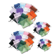 Organza Gift Pouches Wedding Bags Jewelry Gift Pouches ASSORTED(48) Jewelry Bags