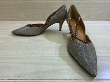 J.Renee Zayna Pumps, Women's Size 13M, Pewter Glitter