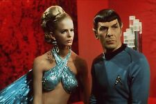 Diana Ewing and Leonard Nimoy Unsigned 12x18 Photo Spock on Star Trek (8)