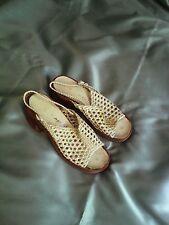 Vintage 1970s Platform Sandals