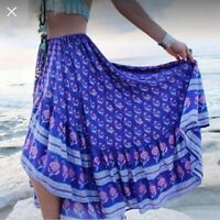 Spell Designs Bohemian Royale purple Castaway SKIRT M use discount