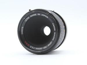 Canon FD 50mm f/3.5 S.S.C. SSC Macro Prime Lens - GARANTIE 60 JOURS