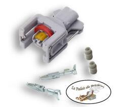 Connecteur injecteur diesel- compatible injecteurs Delphi - 2 broches