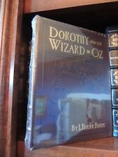 DOROTHY AND THE WIZARD OF OZ  Easton Press ILLUSTRATED RARE NEW SEALED