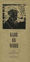Emil Hundhausen - Klor On Wohr - Gedichte En Bergischer Munición #B2005107