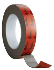 Avery Dennison AFB 6111G Double Sided Acrylic Foam Tape, Black, 108 ft x 1 in