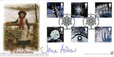 2003 Natale-Bradbury SOVRANO UFFICIALE-firmato da Jane Asher