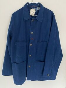 Blue Blue Japan Sashiko Railroad Jacket, size M  - RRP £329