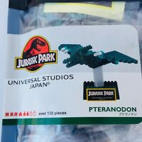 "JURASSIC PARK ""PTERANODON"" nanoblock UNIVERSAL STUDIOS JAPAN KAWADA"