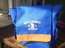 Disney Backpack Brown Trim Perfect! Mickey Mouse Walt Disney World Wdw 1971