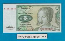 5 Mk--2.1.1960--Kassenfrisch***