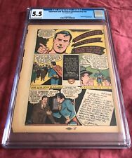SUPERMAN & THE GREAT CLEVELAND FIRE (1948) - One of Rarest Superman Comics Ever!