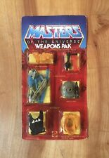 He-Man Masters Of The Universe He-man Weapons Pak 1983 Unpunched NIP Vintage