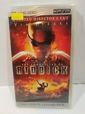 The Chronicles Of Riddick Umd Movie Sony Psp Unrated Director's Cut -New, Sealed