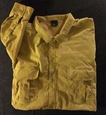 PROPPER Lightweight Tactical Shirt Long Sleeve Button Up Khaki Men's Sz XXL EUC