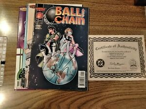 BALL AND CHAIN #1-4  DYNAMIC FORCES  LIMITED COMPLETE SET (HOMAGE) NETFLIX VF-