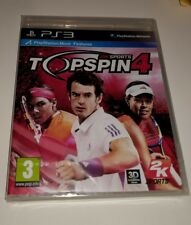 Top Spin 4 Tennis Sport Latest Game PS3 New Sealed UK PAL Sony PlayStation 3