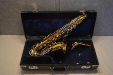 VINTAGE KING ZEPHYR ALTO SAXOPHONE - 1974 SERIES 5 MODEL - RECENT NEW PADS