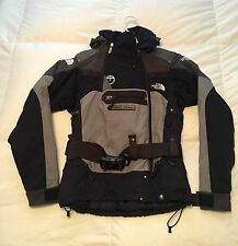 Women's NorthFace 550 Steep Tech Winter Coat -- Extra Small -- Black/Grey