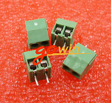 20Pcs Kf350-2P 3.5mm Pitch 2 pin Straight Pin Pcb Screw Terminal Blocks