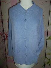 """""""DESIGNER ORIGINIALS"""" Buttonup Cardigan Sweater,Size Medium, Soft Lavender"""