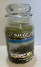 "Yankee Candle Retired ""DUNE GRASS""~ Fresh~ Large 22 oz ~ RARE ~ NEW 1129979"