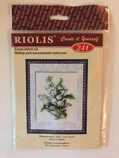 Riolis Lily of The Valley Cross Stitch Kit Multi-color