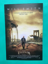 ►►Polish FLYER I Am Legend Will Smith mini poster picture cinema Poland