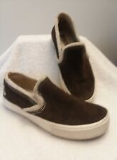 ROXY PEPPERD SHERPA Women's Canvas Boat Sneakers Sz 7.5