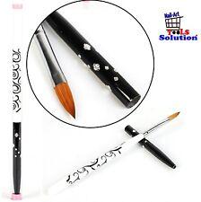Nail Art Brush. Pennello professionale Kolinsky per acrilico e gel UV. No.10